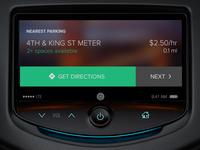 In-Dash Parking Concept