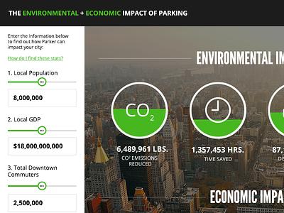 Economic Impact Infographic2 sidebar slider infographic charts