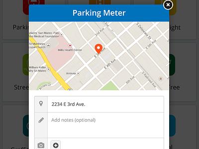 311 Rev2 Overlay parking map overlay ipad form