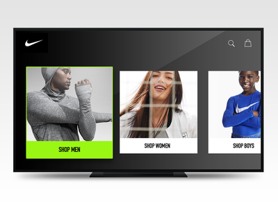 Nike Apple TV Concept concept apple tv nike