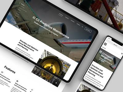 C3 Product Page mobile desktop navigation product ai