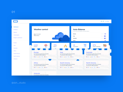 Control weather system for God control panel weather god crm identity branding website web illustration clean vector ux ui minimal hello design app