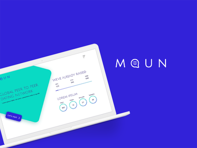 MOUN - UI/UX vector iphone apps ios design ios app design ux ui minimal hello design branding app