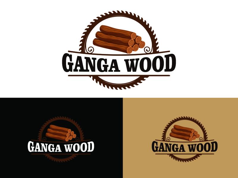 Ganaga Wood logo