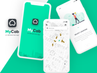 MyCab On-demand Taxi Booking App