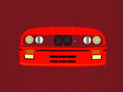 E30 M3 bmw cars e30 m3 illustration