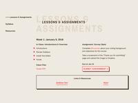 5D Tools: Semester II