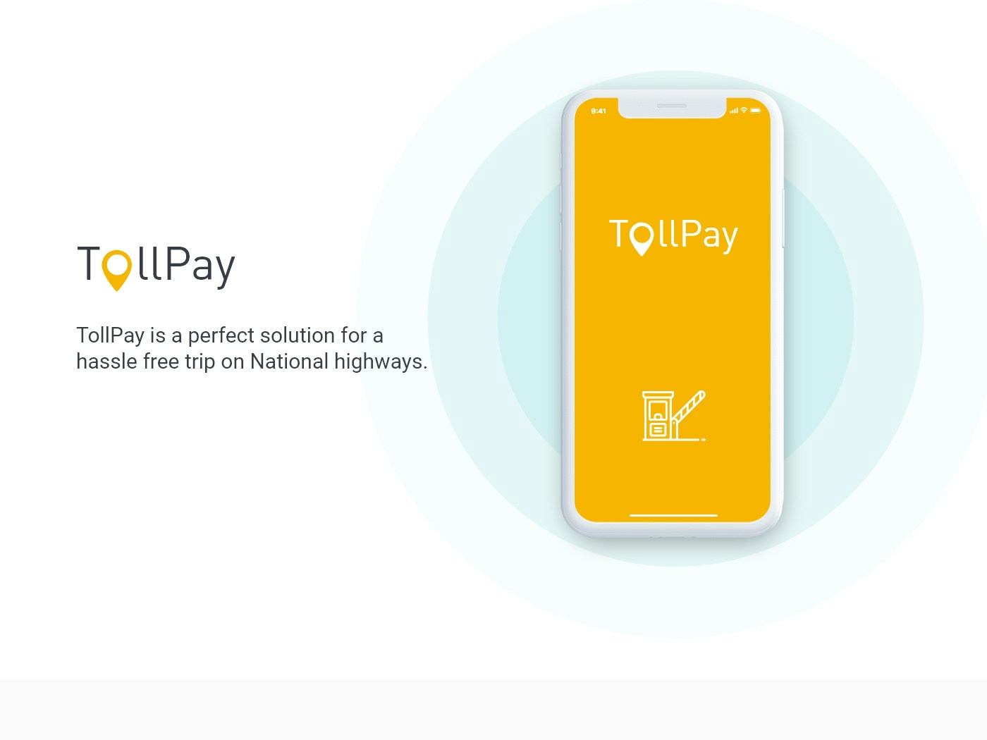 iOS Toll pay design ui adobe xd mobile app toll plaza payment ios 10 toll pay