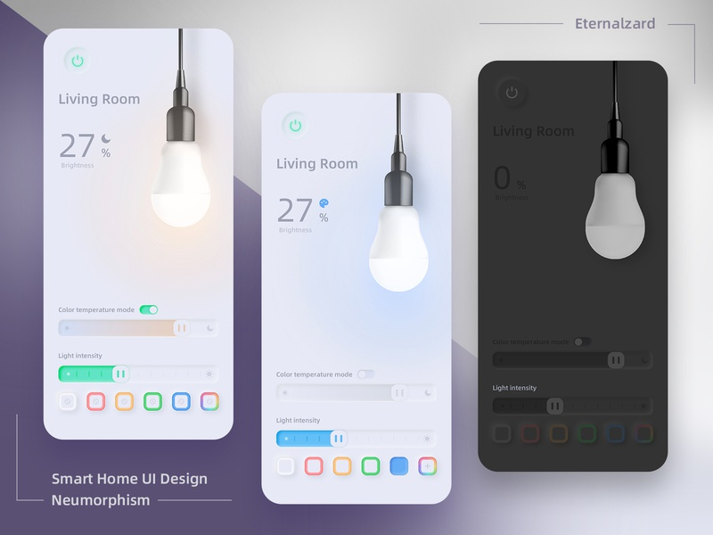 Smart Home UI | Neumorphism