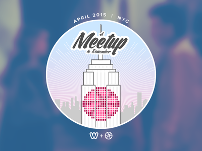 Dribbble + Weebly NYC meetup nyc new york city sleepless in seattle