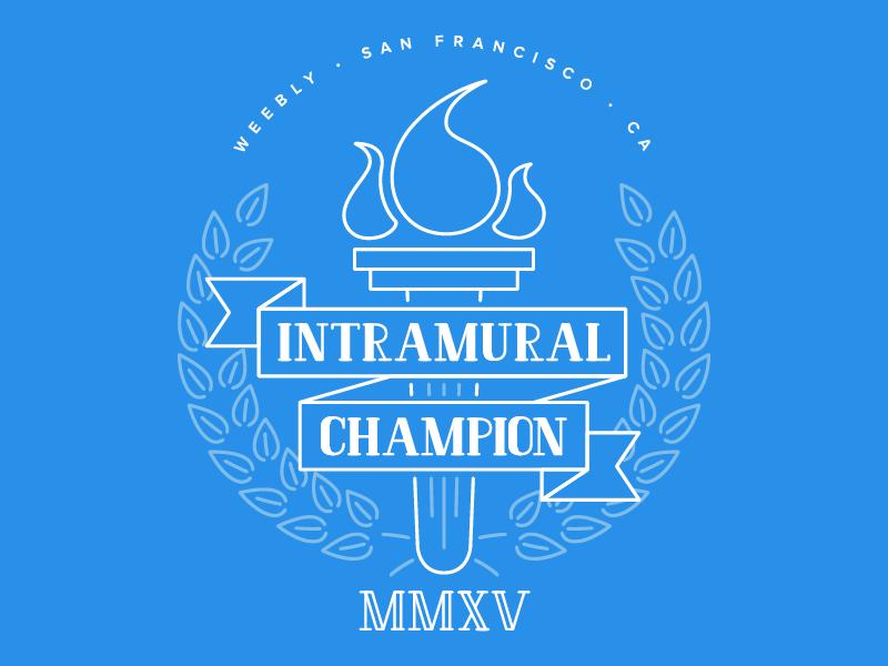 d7e2c76a1c8 Intramural Champion T-Shirt intramurals laurels competition champion winner  illustration t-shirt shirt tshirt