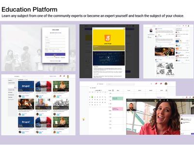 Education Platform dashboard ui analytics ui-design ux design