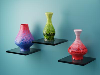 decors materials art artwork color texture 3d art 3d artist design art designer pottery app web graphic design vector logo mobile illustration animation motion graphics design