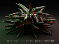 Art text typography cop creativity poster wallpaper 3dart pandemic virus retro motiongraphics motion quotes patterns 3d art psychedelic abstract blender