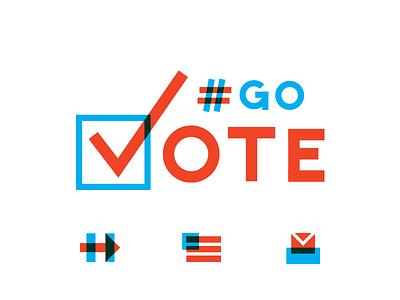 Go Vote election trump clinton hillary politics vote america go vote