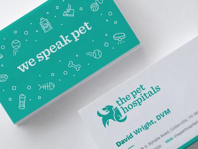 Vet cards cat dog logo brand stationery business cards veterinary