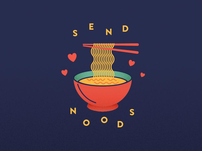 Send Noods card download printable free valentine