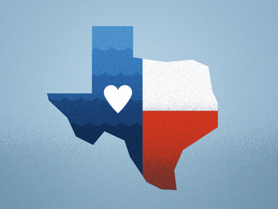 Thinking of you wave donate charity houston relief flood texas