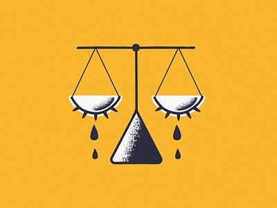 Believe women. justice women editorial design illustration