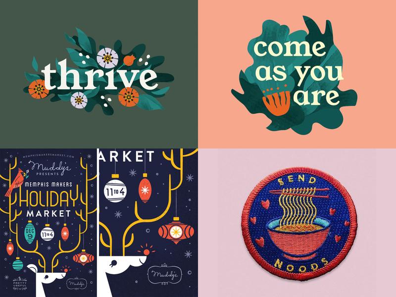 2018 Top 4 top4shots illustration design