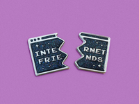 Internet Friends Pin Set