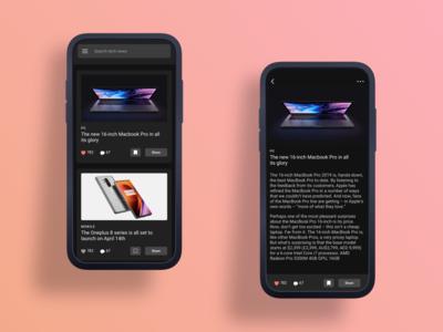Tech News - App