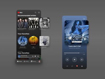 Youtube Music - Redesign Concept