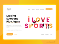 Sports Website Concept