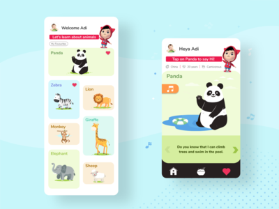 Kids Learning App (concept)
