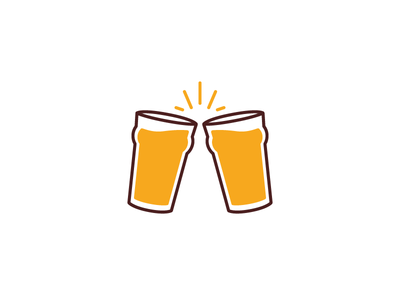Cheers! by Robert Vidaure - Dribbble X And Check Icon