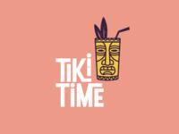 Tiki Time Logo