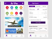 Fly n stay - Ticketing App