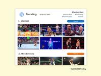 DailyUI #069 Trending