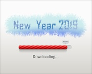 New Year 2019 Downloading...