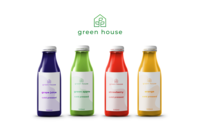 green house bottle desing