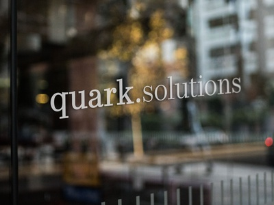 Quark solutions logo and branding   2/3