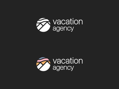 Vacation agency logo design and branding | 1/3