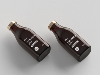 Logo design and branding for cold brew coffee brand | 2/3
