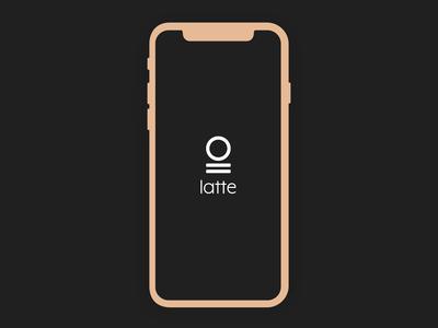 latte app full design | 1/2
