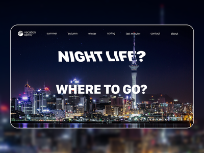 Vacation agency landing page concept | 3/3