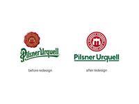 Pilsner Urquell Logo redesign | 1/3