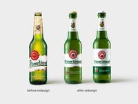 Pilsner Urquell Bottle redesign | 2/3