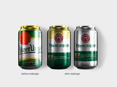 Pilsner Urquell Can redesign | 3/3