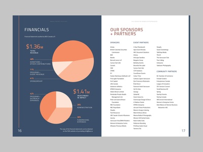Annual Report Pie Chats annual report report numbers statistics stats pie chart chart layout design layout typography