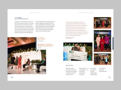 Annual Report Inside Pages