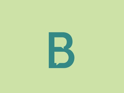 Monogram concept for Public Affairs Firm logo icon icon monogram public affairs speech bubble wordmark sans serif type logo typography branding