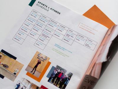 University Neighbourhood Schedule Design