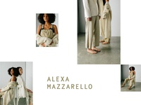 Alexa Mazzarello layout design