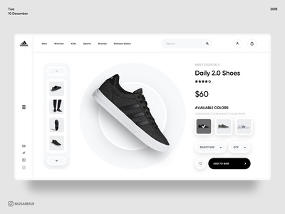 E-Commerce Shoe Store