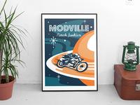 Modville Screen Print